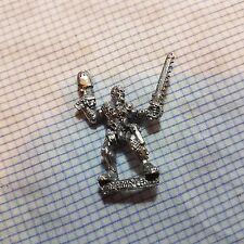 Necromunda House Van Saar Leader with Plasma Pistol and Chainsword OOP