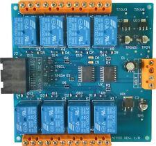 8CH SPDT Relay Controller I2C 12V SHIFTER PLC SCADA Arduino Raspberry Odroid
