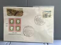 Germany Helgoland 1967 100 year postal anniversary   stamp cover R29321