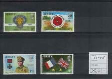 Jersey postfris 1971 MNH 53-56 - Brits Legioen 50 Jaar