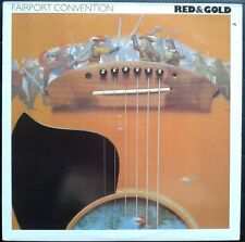 Fairport Convention  Red & Gold  Vinyl LP    RUE 002   Bob Dylan cover