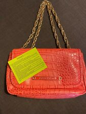 Versace Jeans Bag Pink With Gold Chain -  Excellent Condition