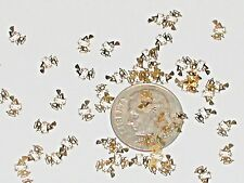 25pc Tiny metal gold Barbie Huge Lot Hello cat Kitty witch charm fairy dust 4mm