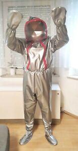Adult Baby Strampler Overall Catsuit LACK PVC SCHLAFANZUG GUMMI BONDAGE FENSTER