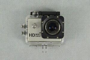 SJCAM Multi-Funciton HD Action Camera In Waterproof Case Model SJ4000 Used