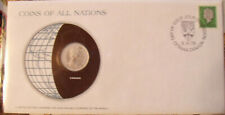 Coins of All Nations Canada 25 cents 1979 UNC