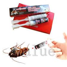 20ml Russia Cockroach Kill Roach Bait Gel Poison Professional Control Syringe