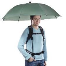 walimex pro Swing handsfree Regenschirm Freihandschirm oliv mit Tragegestell