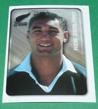 N°72 BLOWERS NEW ZEALAND ALL BLACKS MERLIN RUGBY IRB WORLD CUP 1999 PANINI