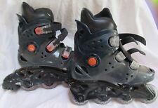 Xcs 2.0 Gear Women's Inline Rollerblade Steel Gray Blue Skate Boots Women Size 6