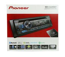 Pioneer DEH-S4200BT 1 DIN Smart Sync In-Dash CD MP3 Receiver w/ Bluetooth, USB