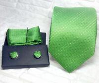 Cravate+boutons de manchette coordonné+sac à main,100% soie qualité supérieure,