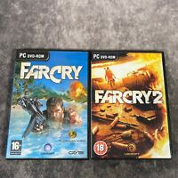 Far Cry 1 & 2 PC Game Bundle Ubisoft Shooters