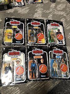 Star Wars Vintage Collection Retro Wave 2 Set BOBA LUKE YODA LEIA HAN LANDO RTS