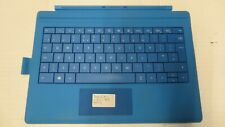 Genuine Microsoft Surface Type Cover Pro 3 Cyan with Pen Loop inc VAT UK Layout