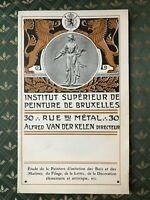 Van Der Kelen Istituto Superiore Di Vernice Catalogue Commerciale 1913