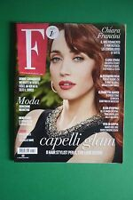 Magazine F Italia CHIARA FRANCINI PEACHES GELDOF ALESSANDRO ROJA ELISA D'OSPINA