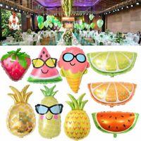 portant des lunettes ballon en aluminium jouets gonflables style de fruits