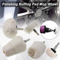5pc inoxydable Polissage Kit tasse cylindre balai roue de polissage composé FT