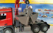 Bruder 43652 clamshell grab  ,suit Tamiya, Wedico, RC 1/14, 1/16 truck