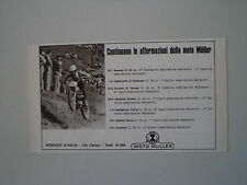 advertising Pubblicità 1971 MOTO MULLER 50 CROSS