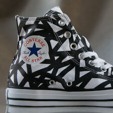 CONVERSE Chuck Taylor All Star Broken Stripes Hi,  shoes for women, US size 8