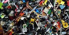 LEGO Lot Of (25) Minifigure Parts And Accessories Heads Torsos Legs Swords +++