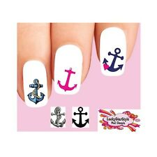 Waterslide Anchors Nail Decals Set of 20 - Anchor Assorted