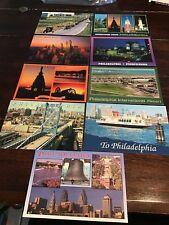 Lot of 9 Pennsylvania Postcards