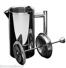 Frieling 0103 French Coffee Press Shiny 18/10 Stainless Steel 6 Cup  23 oz