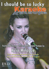 Kylie Minogue Karaoke : I should be so lucky (DVD)