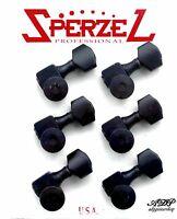 Mecaniques Blocables Sperzel Tele Strat 6 inLine Black SPER6B Close-out