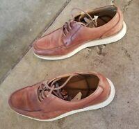 Cole Haan Shoes Lunarlon Mens 8.5 M Wingtip Brogue Leather Oxfords  Brown