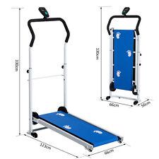 Twin Flywheel Portable Manual Treadmill
