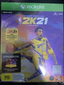NBA 2K21 Mamba Forever Edition (Xbox One/Series X) NEW & SEALED