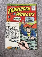 Forbidden Worlds #108 1962 Herbie Painted Cover!!! Beautiful!!!