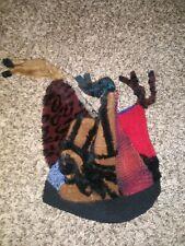 Vintage Rare Lee Andersen Crazy Hat Color Block One Size