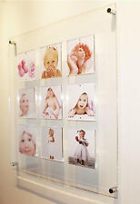 """XL Cheshire acrylic magnetic Instagram multi  6 x 6 """" wall picture photo frame"""