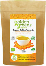 Organic Turmeric Powder (Curcumin) with Black Pepper (Piperine) and Ginger, 100g