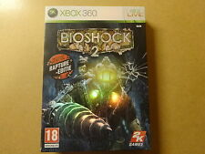 XBOX 360 GAME + BOOKLET / BIOSHOCK 2 - RAPTURE EDITION WITH ARTBOOK