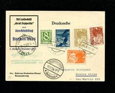 Zeppelin Sieger 133 1931 3rd South America Flight Austria Dispatch