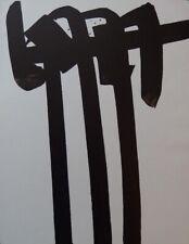 Pierre SOULAGES : Lithographie n°28 - LITHOGRAPHIE ORIGINALE # 1970