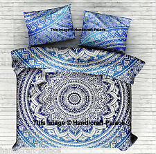 Indian Ombre Mandala Duvet Covers Hippie Star Bohemian Bedding Throw Quilt Cover