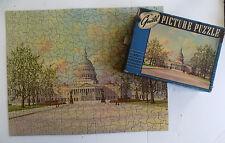 Vintage Guild Picture Puzzle U.S. Capitol