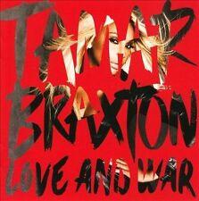TAMAR BRAXTON - LOVE AND WAR (NEW CD)
