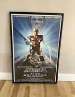 """MASTERS OF THE UNIVERSE - CANNON MOVIE POSTER  27"""" X 41"""" Dolph Lundgren 1987"""