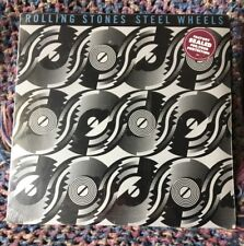 THE ROLLING STONES VINYL steel wheels LP SEALED 89 1st Edition NOS