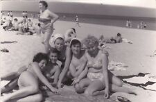 1960 Nude Sexy Women in swimsuits girls on the beach #5 Russian Soviet photo