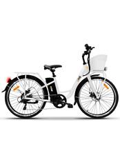 """THE ONE LIGHT 250W 26"""" Bici Elettrica - Bianco"""