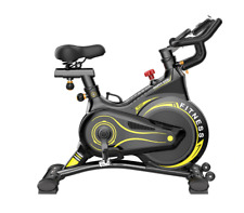 HOME Cyclette ULTRA SILENZIOSO SILENT Indoor SPINNING Cardio Trainer CICLO 150kg